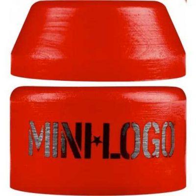 Mini Logo Hard Bushings Rød - Sæt af 2 stk