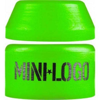 Mini Logo Soft Bushings Green - Sæt af 2 stk
