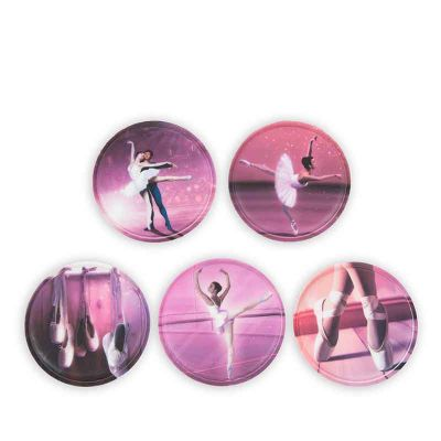 Ergobag Mærker/Patches Kletties Ballerina