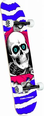 Powell Peralta Ripper One Off Purple Skateboard - 7.75 x 31.08