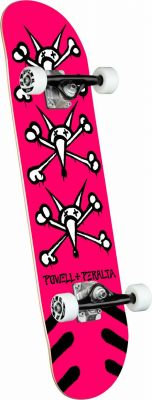 Powell Peralta Vato Rats Pink Skateboard - 7 x 28