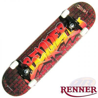 Renner Skateboard A Graffiti Wall 31 x 7.75