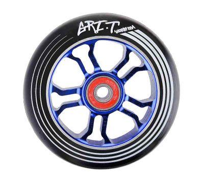 GRIT Ultra Light Løbehjuls Hjul 100mm Sort/Blå PU