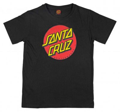 Santa Cruz Youth Classic Dot Black