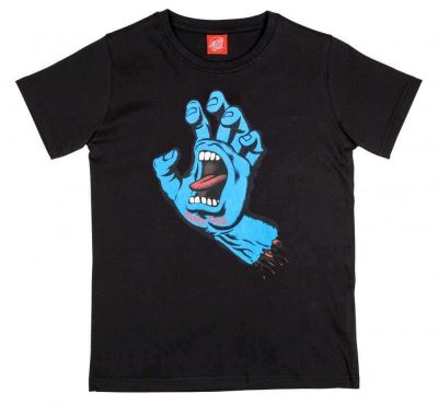 Santa Cruz Kortærmet T-shirt 'Screaming Hand' Sort