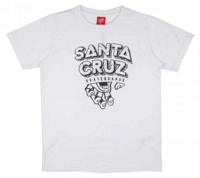 Santa Cruz Youth T-shirt Inherit - Hvid