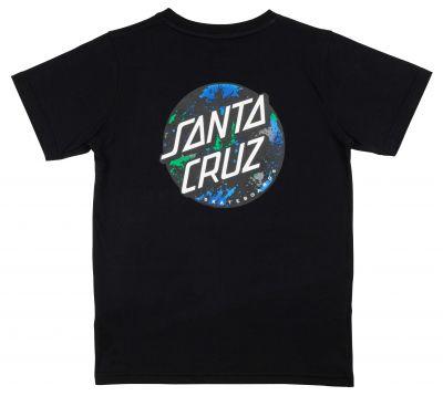 Santa Cruz Youth T-shirt Dot Splatter Sort