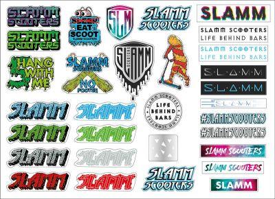 Slamm Sticker Sheet