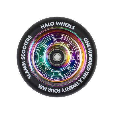 Slamm Halo Deep Dish Neochrome Hjul Til Løbehjul