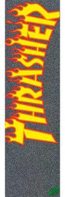 Thrasher Griptape fra MOB Flame Logo Sort