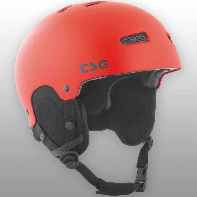 TSG Skihjelm Arctic Kraken Solid Color Satin Fire Red