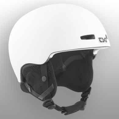 TSG Skihjelm Fly Solid Satin Hvid