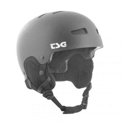 TSG Skihjelm Gravity Solid Color Satin Black