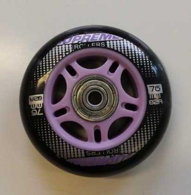 Rulleskøjtehjul til Venice Inliner Purple 1. stk.
