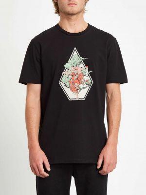 Volcom Nozaka Skate T-Shirt Black