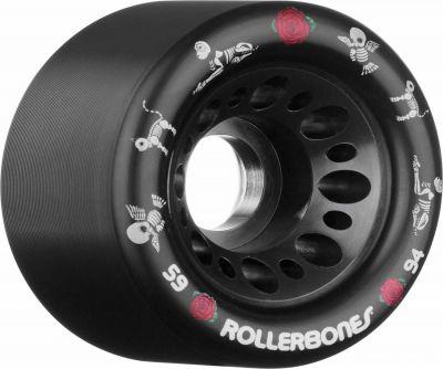 Rollerbones 'Pet Day of the Dead' Speed Wheel 59mm x 92A - 4stk Sort