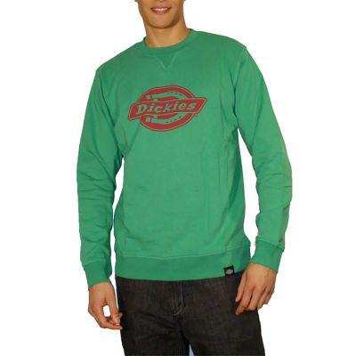 Dickies Sweatshirt Chicago Emerald Green Red