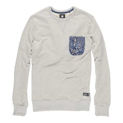 Element sweatshirt Willis, Outmeal Heather