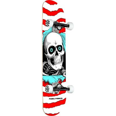 Powell Peralta Ripper One Off Red Skateboard • 8.0 x 31.45