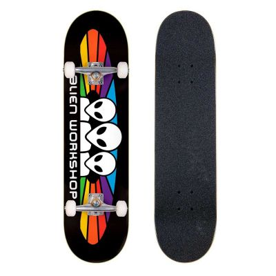 Alien Workshop Skateboard Spectrum Black 8.25