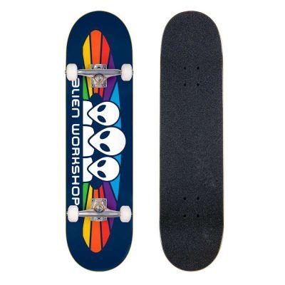 Alien Workshop Skateboard Spectrum Navy 8.0