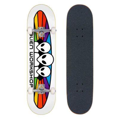 Alien Workshop Skateboard Spectrum White 8.0