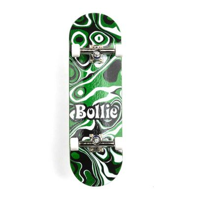 Bollie Psychedelic Green Fingerboard