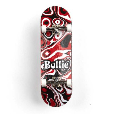Bollie Psychedelic Red Fingerboard