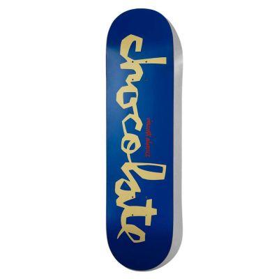 Chocolate Alvarez Original Skateboard Chunk Deck 7.75