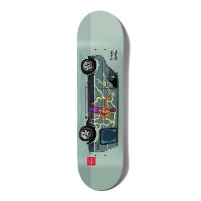 Chocolate Alvarez Vanner Skateboard Deck 8.0 x-31.875