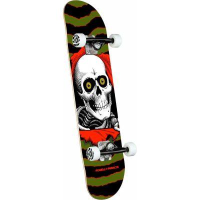 Powell Peralta Ripper One Off Olive Skateboard - 7 x 28