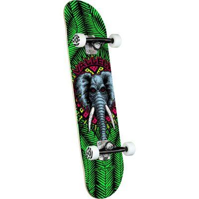 "Powell Peralta Vallely Elephant • Green Skateboard • 8.0"""