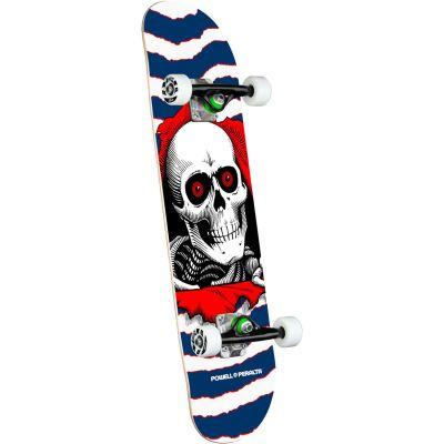 "Powell Peralta Ripper One Off Skateboard • Navy • 7.75"""