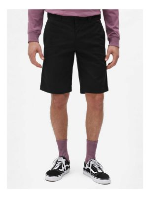 Dickies Slim Straight Work Shorts Flex Sort