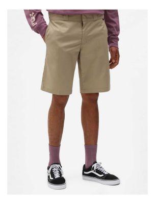 Dickies Slim Straight Work Shorts Flex Khaki
