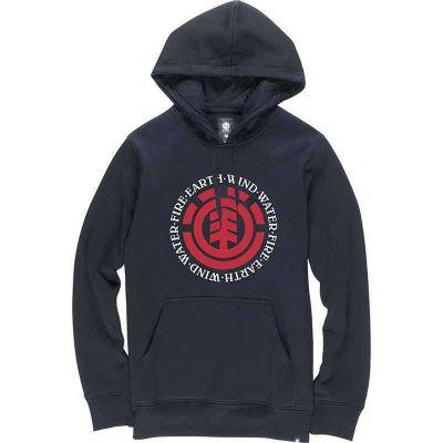 Element Seal Hættetrøje Flint Black