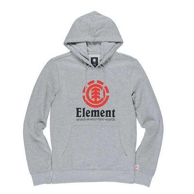 Element Vertical Hoody Grey Heather