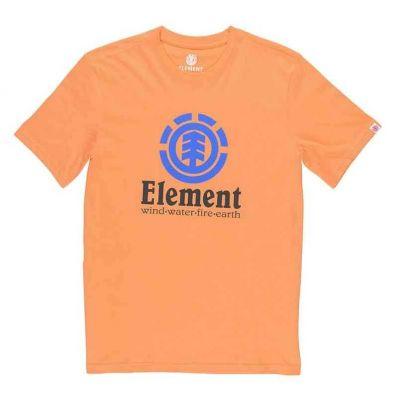 Element T-shirt Vertical SS Cadium Orange