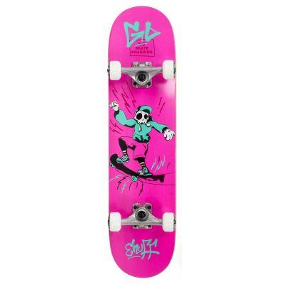 Enuff Skully Pink Skateboard 7.75 x 31