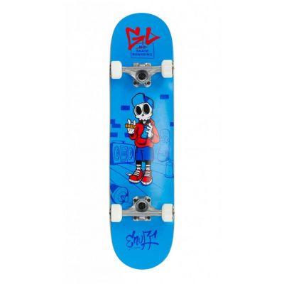 Enuff Skully Blue Skateboard 7.2 x 29.5