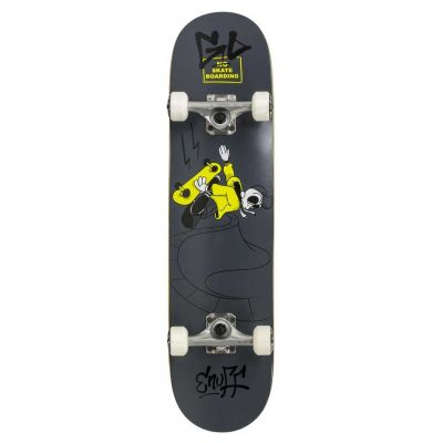 Enuff Skully Black Skateboard 7.2 x 29.5