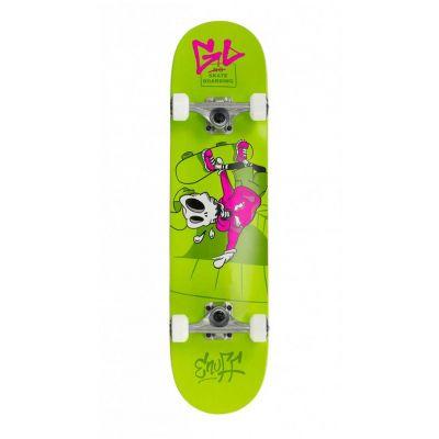 Enuff Skully Green Skateboard 7.2 x 29.5