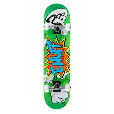Enuff Pow Mini Skateboard Green