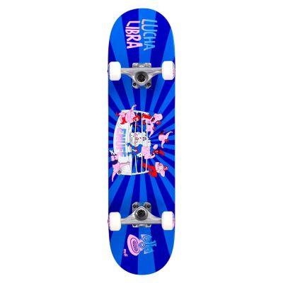 Enuff Skateboard Lucha Libre Blue Blue 7.75 x 31.5