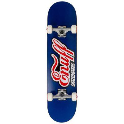 Enuff Mini Classic Logo Blue Skateboard 7 x 29.5