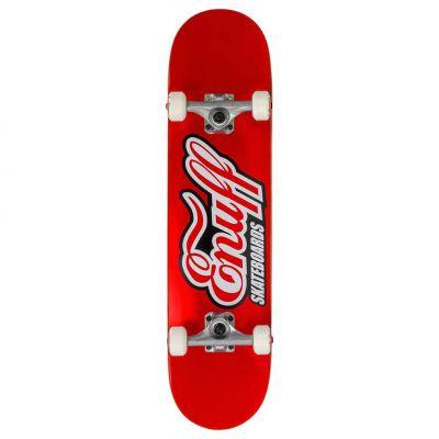 Enuff Mini Classic Logo Red Skateboard 31.5 x 7.75