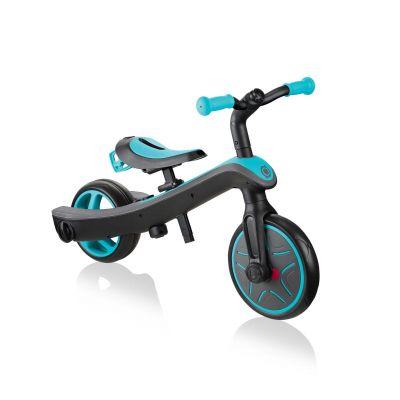 Globber Trike Explorer 2-i-1 Løbecykel Blå