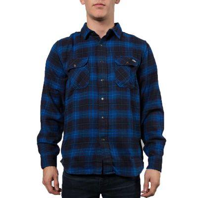 Dickies Sunfield Langærmet Skjorte Evening Blue