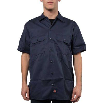 Dickies 1574 Work Shirt Kortærmet Skjorte Dark Navy