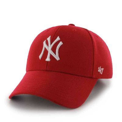New York Yankees Cap Red From 47 Brand